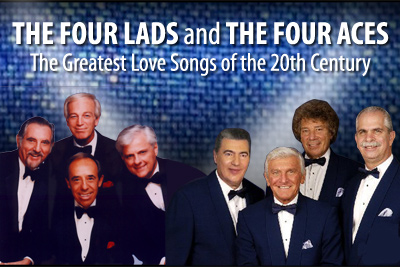 The Four Lads and The Four Aces - The Greatest Love Songs of the 20th Century
